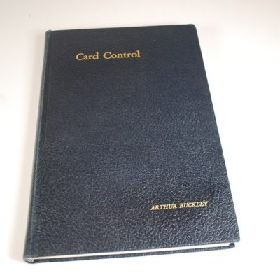 Card Control by Arthur Buckley 1946 second edition