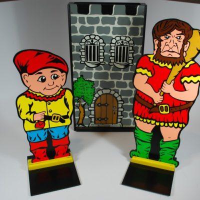 Original Jack Hughes Giant and Dwarf