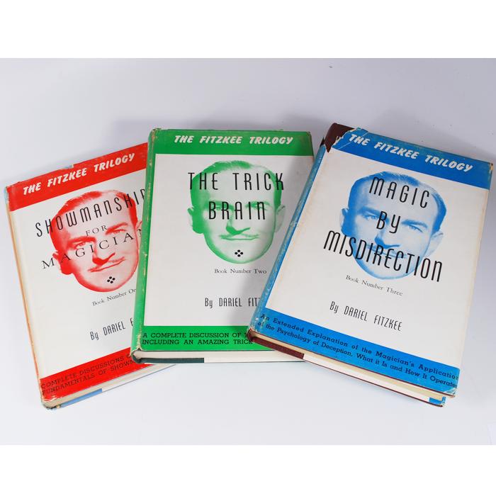 The Fitzkee Trilogy Dariel Fitzkee Set of 3 Magic 1987