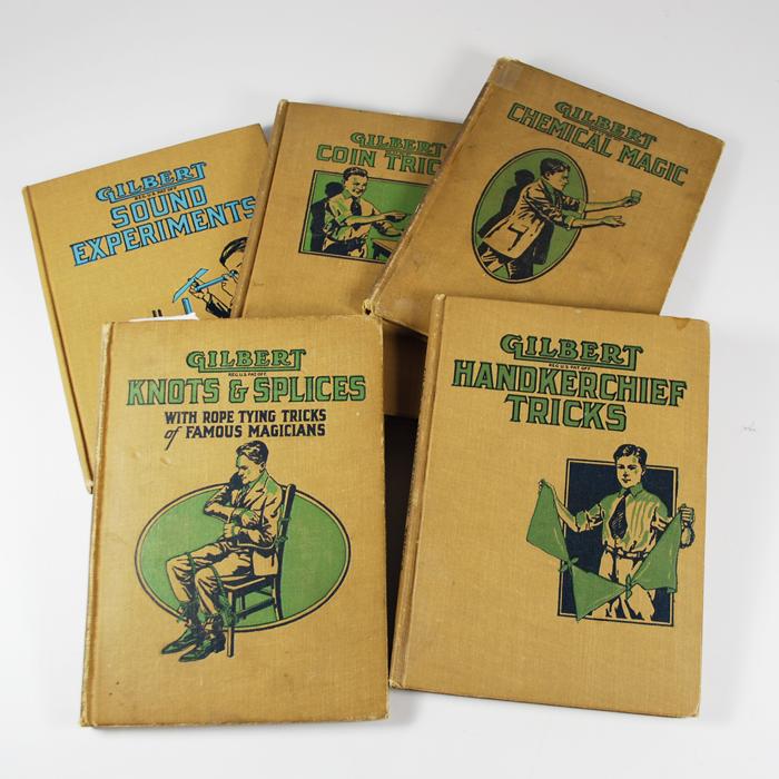 Gilbert Hardbound Books: set of 5 from 1909 to 1920