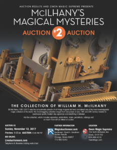 McIlhany's Magical Mysteries Auctions One and Two: September 16,17 and November 12, 2017
