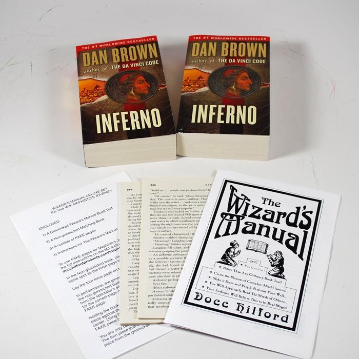 wizard manual book test