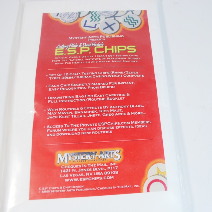 ESP Chips Anthony Blake and David Harper: never used and no longer available